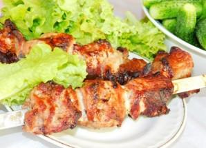 Шашлык из свинины в луковом маринаде - фото шаг 5