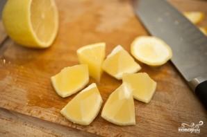 Постный салат с капустой - фото шаг 3