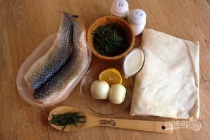 Рыба в лаваше с тархуном - фото шаг 1