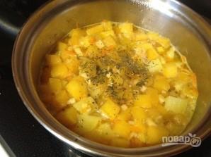 Суп-пюре с тыквой и сельдереем - фото шаг 7