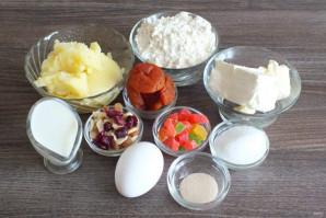 Картофельный штоллен - фото шаг 1