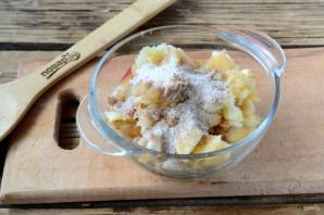 Фаршированные яблоки в духовке - фото шаг 3