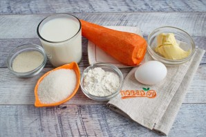 Морковное суфле с манкой - фото шаг 1
