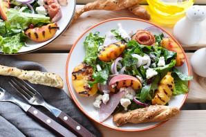 Салат с персиками - фото шаг 7