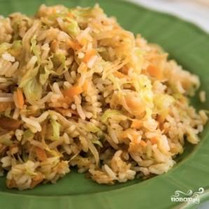 Капуста с рисом - фото шаг 10