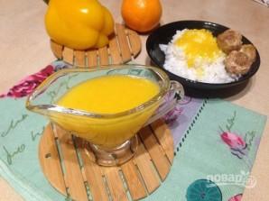 Апельсиновый соус с болгарским перцем - фото шаг 7