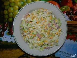 Салат из китайской капусты - фото шаг 4