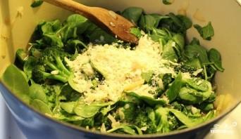 Суп-пюре из брокколи со шпинатом - фото шаг 3