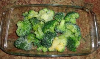 Брокколи в духовке с сыром - фото шаг 1