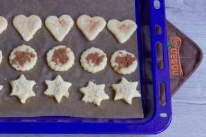 Творожное печенье с корицей и кунжутом - фото шаг 7