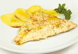Филе рыбы с картошкой - фото шаг 5