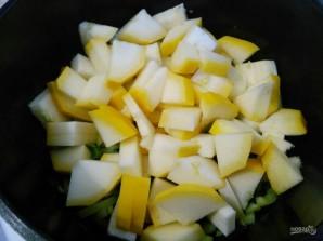 Квише с овощной начинкой - фото шаг 8
