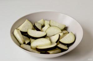 Грузинский салат с баклажанами - фото шаг 2
