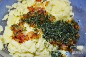 Пирожки с картошкой, жаренные на сковороде - фото шаг 3