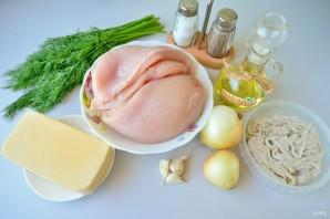 Куриные колбаски с сыром для гриля - фото шаг 1