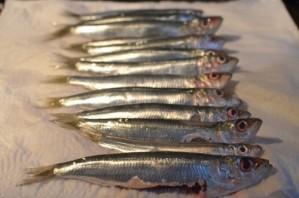 Жареная морская рыба - фото шаг 1