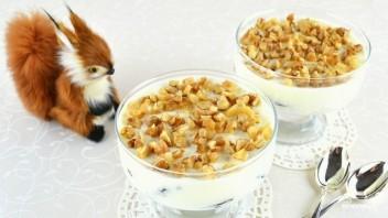Десерт с черносливом и грецкими орехами - фото шаг 5