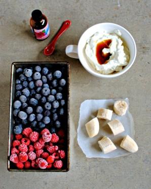 Замороженное фруктовое пюре - фото шаг 1