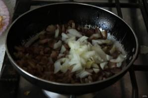 Лучший рецепт фаршированных баклажанов с грибами и майонезом - фото шаг 7