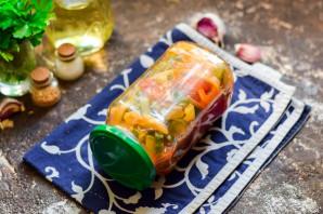 Лечо с помидорами и огурцами - фото шаг 9