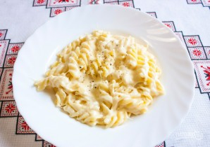 Сырная подлива для макарон - фото шаг 5