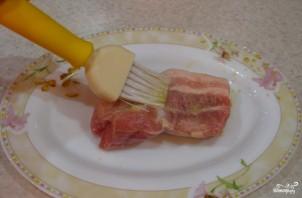 Ребрышки в медово-горчичном соусе - фото шаг 4