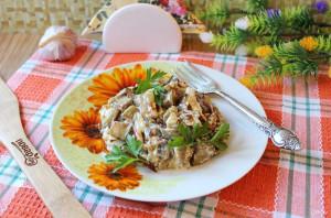 Баклажаны как грибы с майонезом - фото шаг 11