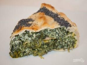Пасхальный пирог со шпинатом и рикоттой - фото шаг 6
