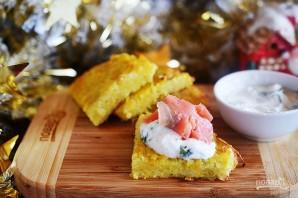 Рёшти с малосольной рыбой и соусом из хрена - фото шаг 8