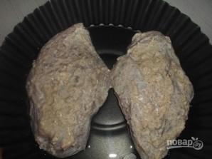 """Куриная грудка """"под шубой"""" в духовке - фото шаг 5"""