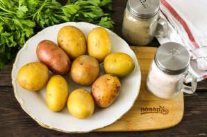 Картошка печеная в золе - фото шаг 1