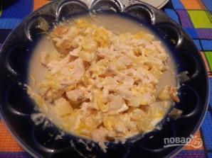 Канапе с ананасами, курицей и апельсинами - фото шаг 8