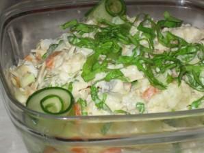 Салат с горбушей отварной - фото шаг 4