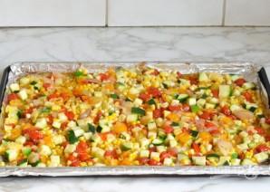 Паста с запечёнными овощами - фото шаг 3