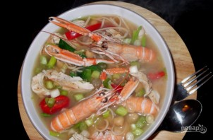 Суп из лангустинов - фото шаг 4