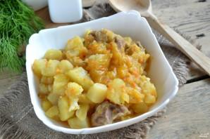 Цветная капуста с мясом и картошкой - фото шаг 9
