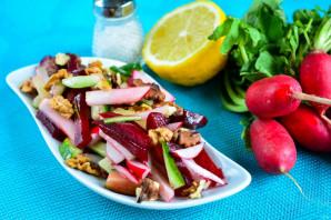 Салат из свеклы и редиса - фото шаг 9