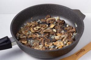 Cалат с грибами и зеленой фасолью - фото шаг 2