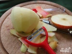 Запеченное яблоко в слоеном тесте - фото шаг 4