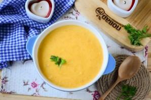 Тыквенный суп с сыром - фото шаг 8