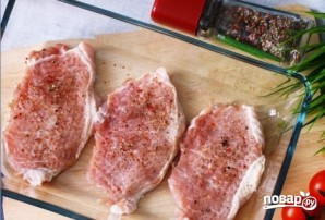 Эскалоп свиной в духовке - фото шаг 4