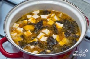 Овощной мисо-суп - фото шаг 7