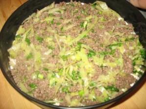 Пирог с мясом и капустой   - фото шаг 4
