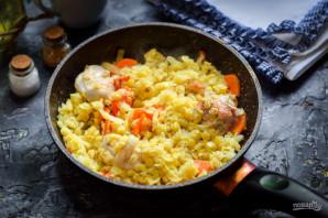 Чечевица с курицей и овощами - фото шаг 5