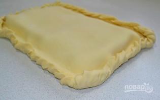 Слоеный пирог с горбушей - фото шаг 5