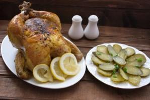 Курица, запеченная в сливочном соусе - фото шаг 6