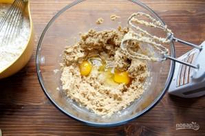 Печенье с шоколадной крошкой - фото шаг 1