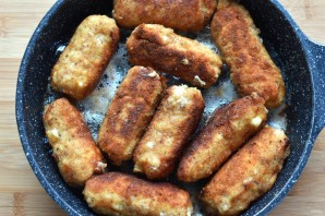 Фламенкины с начинкой из сыра, яйца и зеленого лука - фото шаг 7