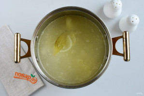 Сливочно-чесночный суп - фото шаг 6