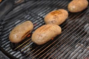 Картошка с салом на мангале - фото шаг 2
